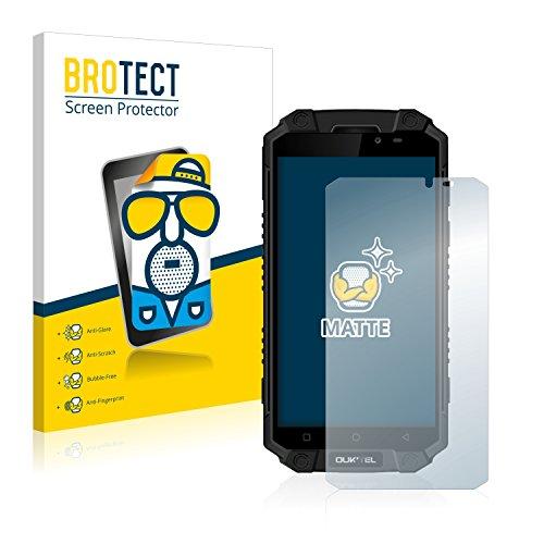 BROTECT Entspiegelungs-Schutzfolie kompatibel mit Oukitel K10000 Max (2 Stück) - Anti-Reflex, Matt
