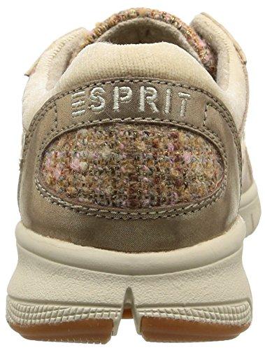 Esprit Delight, Damen Sneakers Braun (241 Taupe 2)