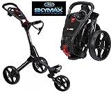 Best Golf Trolleys - Sky Max Cube 3 Wheel Black/Black Golf Trolley Review