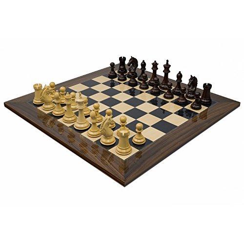 Die Stretford Ritter Luxus Rosenholz Schachspiel
