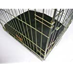 """Ellie-Bo Waterproof Dog Beds in Green - Tailor made to fit cages and crates (28"""" - Fits 30"""" Medium Dog Cage) 11"""
