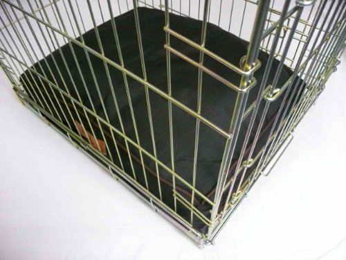 """Ellie-Bo Waterproof Dog Beds in Green - Tailor made to fit cages and crates (28"""" - Fits 30"""" Medium Dog Cage) 5"""