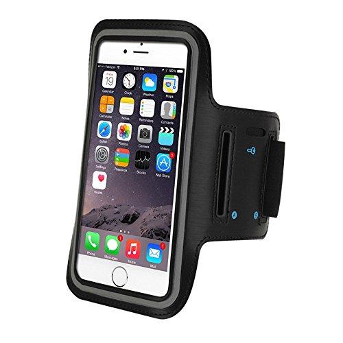 eTEKNIC Brazalete Deportivo iPhone 6 / 6s / 7 / 8 Plus Soporte Ajustable Para Deporte Correr Ejercicio Fitness Funda Protectora, 5,5 Pulgadas
