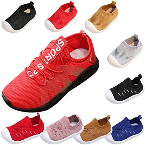 Sandalen für Kinder/Dorical Sommer Unisex Baby Jungen Mädchen Lauflernschuhe Fliegendes Weben Schuhe Mesh Atmungsaktiv Sportschuhe Freizeit Krabbelschuhe mit Weiche - Einfach Paar Kostüm Zu Machen