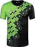 jeansian Herren Sportswear Quick Dry Short Sleeve T-Shirt LSL111_Black XL