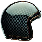 Bell Casco Custom 500Se Rsd Checkit, black, Taglia M