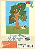 Pebaro 317/1S - Laubsägevorlage Apfelbaum