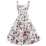 IMJONO Damen Kleider Sommerkleider Abendkleider Festliche schöne etuikleid kaufen online Strickkleid Damen Elegante Lange blaues Kleid schwarz Shop rot weiß (EU-38/CN-M,b-Weiß)