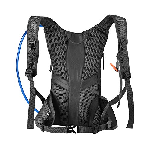 Hydration Rucksack Trinkrucksack(12L) mit Trinkblase(2L) Pack,Trinksystem Backpack - 6