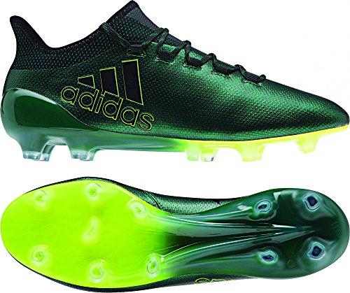 adidas Herren X 17.1 FG Fußballschuhe, 44.5 EU Mehrfarbig (Negbas / Negbas / Amasol)