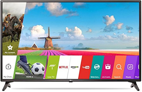 LG 108 cm (43 inches) 43LJ554T Full HD LED Smart TV (Ceramic Black) with Offer