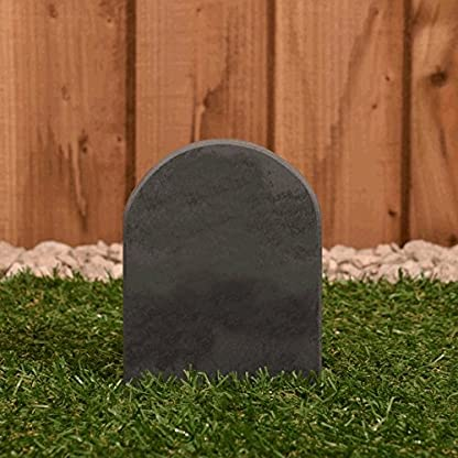 Pet Gravestone personalised with name and motif personalised 3