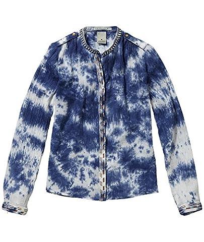 Scotch & Soda R'Belle Mädchen Bluse Tunika-Shirt aus Kreppstoff, Gr.