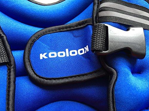 Zoom IMG-1 koolook giubbino zavorrato ergonomico fitness