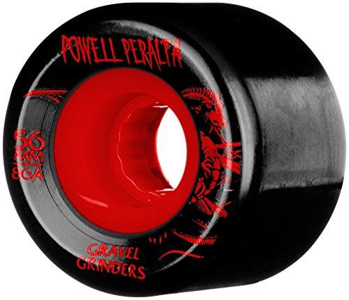 Powell Peralta Spiel-4Skateboard-Räder, Gravel Grinder 56x 86HAT - Skateboard Grinder