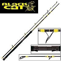 Black Cat Passion Pro DX Boat Spin–Caña de Pescar Siluro, Standart, One Size