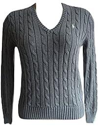 Amazon.fr   Ralph Lauren - Pulls, Gilets   Sweat-shirts   Femme ... 8a36435e925