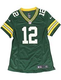 Nike Green Bay Packers NFL Game Team Jersey Camiseta de Manga Corta bbc57959a52