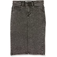 Suchergebnis auf Amazon.de für  Jeansrock Damen Knielang bfae7fb7e0