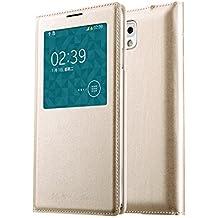 OFT Funda con ventana para Samsung Galaxy Note 3 N9000/N9002/N9005/N9006/N9008