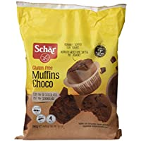 Dr. Schar Muffin Choco Magdalenas - Paquete de 4 x 65 gr - Total: 260 gr