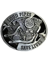 Spirit of Isis B88 Buckle Gürtelschnalle LOUD PIPES SAVE LIVES