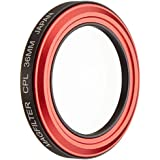 Carry Speed Filtre polarisant circulaire magnétique MagFilter 36 mm pour Canon PowerShot S95/S100/S110