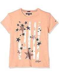 Tommy Hilfiger Girl's Bright Stars Tee S/S T-Shirt