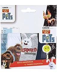 Juntos di 3 Bragas The Secre Life of Pets Niños