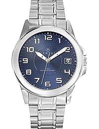 Certus - 616222 - Montre Homme - Quartz Analogique - Cadran Bleu - Bracelet Acier Argent