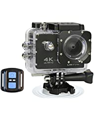 DMYCO 4K Ultra HD Sports Action Camera WIFI 16MP 2.0-Inch LCD Waterproof Action Camera with 170°Wide Angle Lens 2.4G Wireless Remote Control for