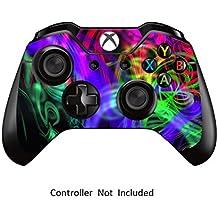 GameXcel ® Controlador Xbox Una piel - Xbox personalizada 1 mando a distancia de vinilo pegatinas - Modded Xbox One Accesorios cubren la etiqueta - Printed [ Controlador no está incluido]