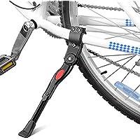 """Bestgle Caballetes para Bicicletas,Aluminio Soporte Ajustable del Retroceso para Bicicleta Soporte de pie Universal de Carretera per Bicicleta de montaña 16""""- 26""""(Negro)"""