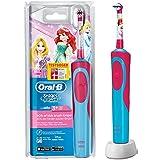 Oral-B Stages Power Akku - Cepillo de dientes infantil (eléctrico, con temporizador), diseño de princesa