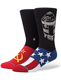 Stance Men's Space Race Crew Socks Black