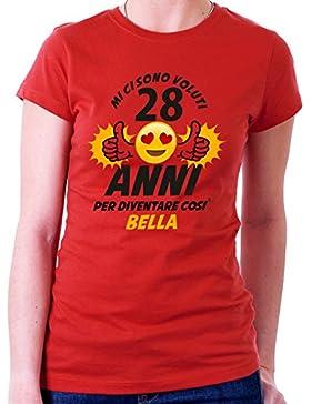 Tshirt compleanno Mi ci sono voluti 28 anni per diventare così bella - eventi - idea regalo - compleanno - Tutte...