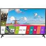 LG 109.3 Cm (43 Inches) 43LJ554T Full HD LED Smart TV (Ceramic Black) With Offer