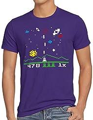 style3 Sheldon Alien Invader T-Shirt Homme
