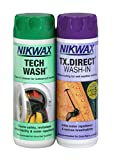 Nikwax Tech Wash/TX.Direct Wash In Twin Pack