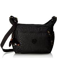 Kipling Large School Messengerbag (Across Body) - GABBIE Black Scale Emb,F