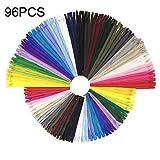 Wartoon Reißverschluss, 24 Farben Nylon Reißverschlüsse, 20cm und 30cm lang,...