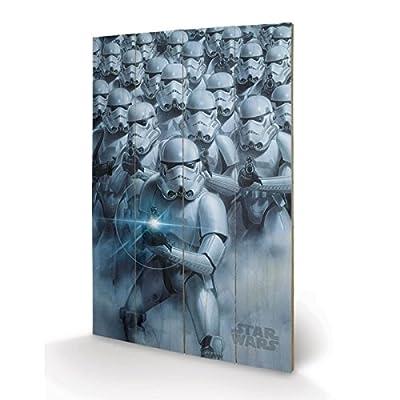 PYRAMID - Panneau en Bois Star Wars Stormtroopers