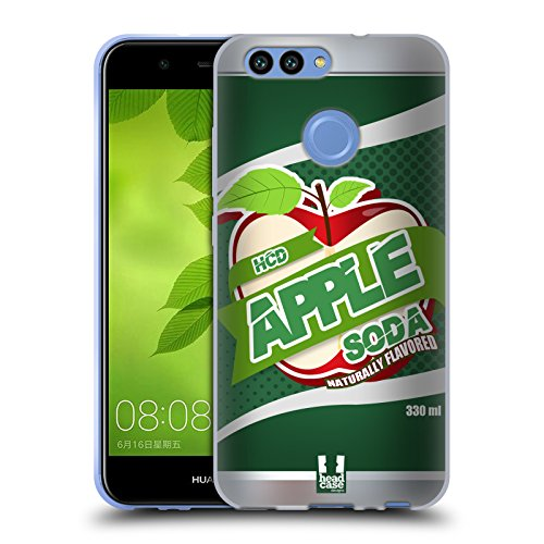 Head Case Designs Hcd Apple Soda Blechdose Handy Hülle Soft Gel Hülle für Huawei Nova 2