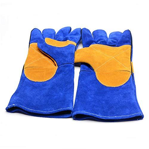 Oshide Hochtemperaturbeständige Handschuhe Resistant Kamin Herd Topflappen Und Grill Löten Gartenofen Grill Mig