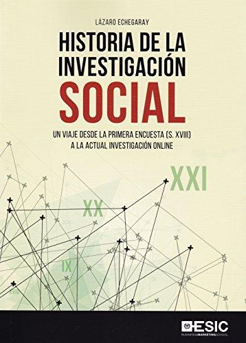 Historia de la investigación social. Un viaje desde la primera encuesta (S. XVII