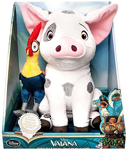Pua and Heihei Talking Plush Set - Disney Moana - Medium - 12'' by Disney Interactive Studios