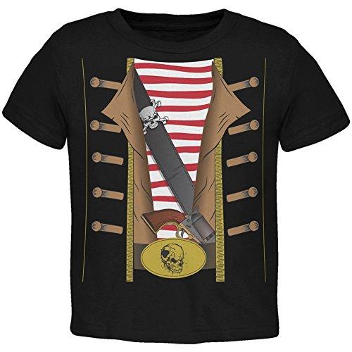 Pirat Kostüm Kleinkind T-Shirt-2 (Kostüme Piraten 2t)