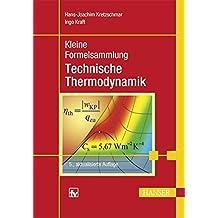 Kleine Formelsammlung Technische Thermodynamik