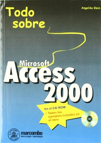 Todo sobre Access 2000