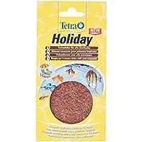 TetraMin Holiday Ferienfutter, Gelfutterblock Fischfutter für eine ausgewogene Ernährung aller Zierfische über einen längeren Zeitraum, 30 g